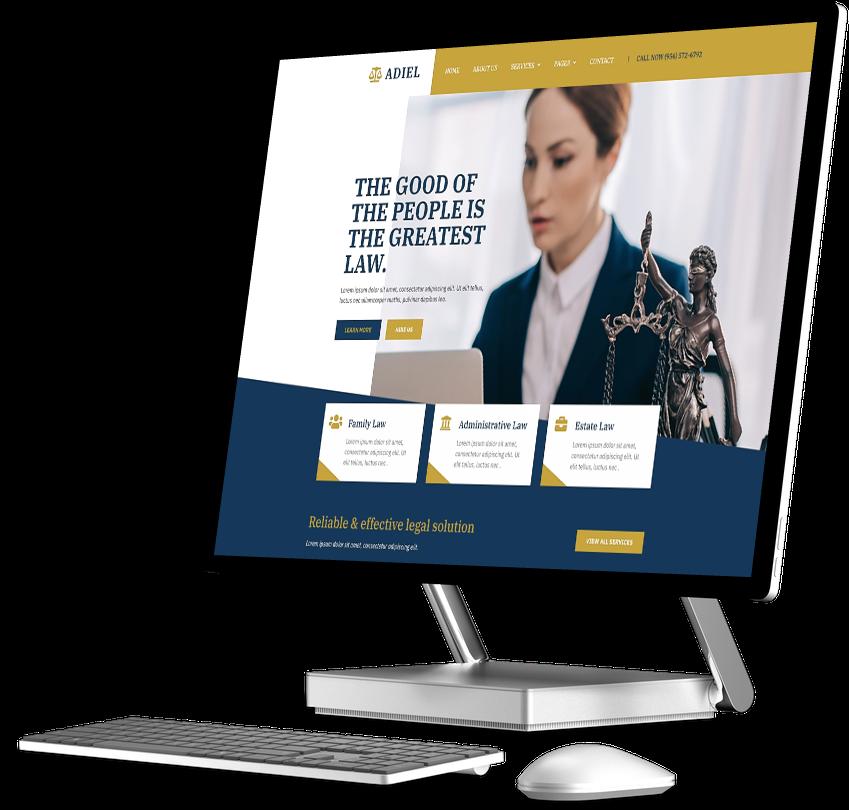 Law Firm Website Builder